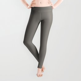 Middle Grey - solid color Leggings