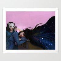 inspiration Art Prints featuring Inspiration by Li Pei Huang
