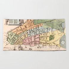 New York City 1728 Beach Towel