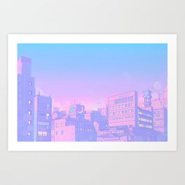 Sailor City Art Print