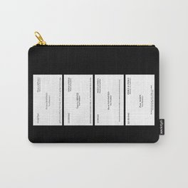 American Psycho Business Cards Carry-All Pouch