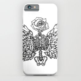 The Beauty of Death iPhone Case
