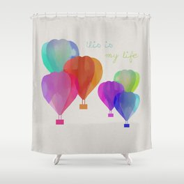 This Is My Life Shower Curtain