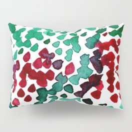 trickle no3...two hearts on grass Pillow Sham