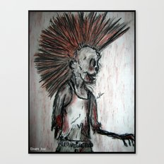 Punk is UnDead Canvas Print