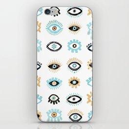 Evil Eye Illustration iPhone Skin