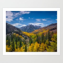 Autumn Views Art Print