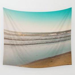 Golden Beach Days Wall Tapestry