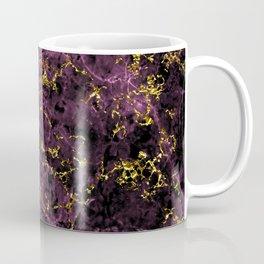GOLD MAGENTA MARBLE Coffee Mug