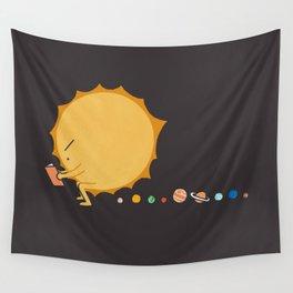 Poo Poo Sun Wall Tapestry