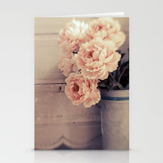 Peaches & Cream Stationery Cards