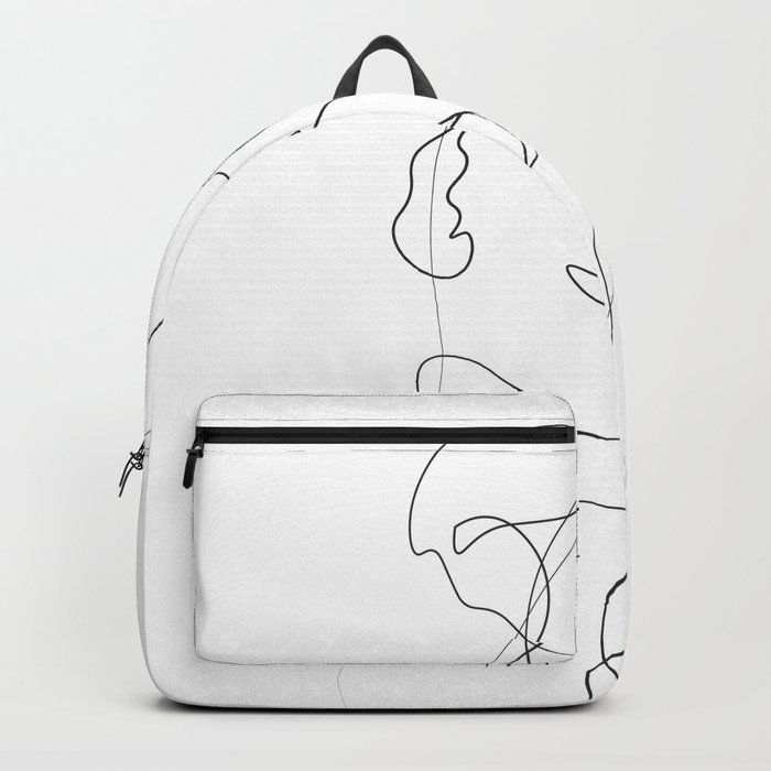 Lovers - Minimal Line Drawing Rucksack