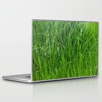 grass Laptop & iPad Skins featuring grass by Кaterina Кalinich