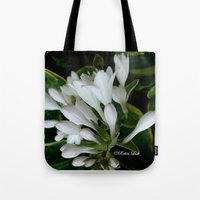 dancing Tote Bags featuring Dancing by Robin Lusk