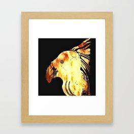 Paradise Bird N1 Framed Art Print