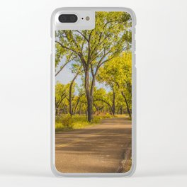 Cottonwoods, Theodore Roosevelt NP, ND 1 Clear iPhone Case