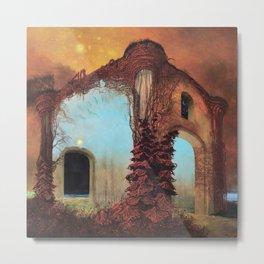 Untitled (The House) by Zdzisław Beksiński Metal Print
