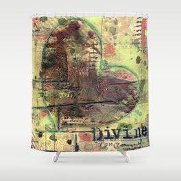 Permission Series: Divine Shower Curtain