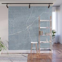 Huntsville Map, USA - Slate Wall Mural