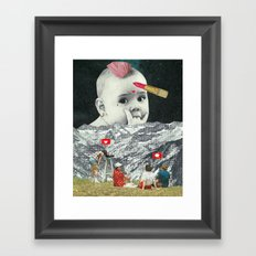 Gender Baby Framed Art Print
