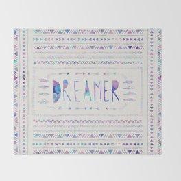 DREAMER Throw Blanket