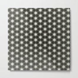 Paperclip Pattern 1 Metal Print