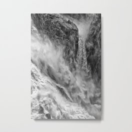 Power in the falls Metal Print