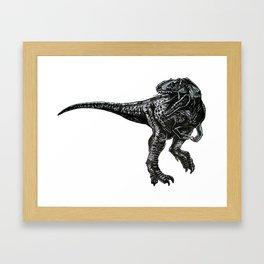 The Dinosaur Framed Art Print