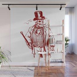 Skeleton gentlemen - Elegant zombie Wall Mural