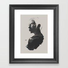 X sketch 02 Framed Art Print