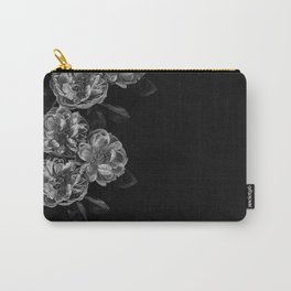left side flowers Carry-All Pouch