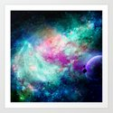 Teal Galaxy by haroulita