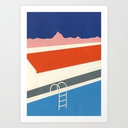 Keough's Hot Springs Art Print