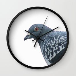Peace Bird Wall Clock