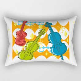 Sunny Grappelli String Jazz Trio Composition Rectangular Pillow