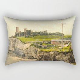 Vintage Photo-Print of Kingsgate Castle (1900) Rectangular Pillow