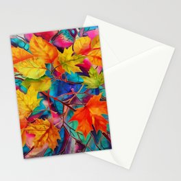 Autumn mood Stationery Cards