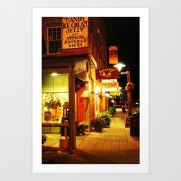 Brown County Art Print