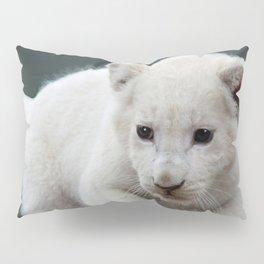 White lion cub Pillow Sham