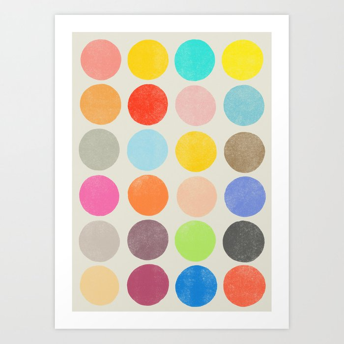 colorplay 1 Art Print