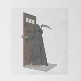 Dead Ringer Throw Blanket