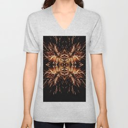 Light Explosion Unisex V-Neck