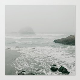 Sutro Baths in the Fog Canvas Print