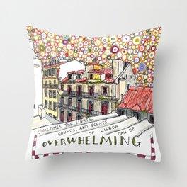 overwhelming Throw Pillow