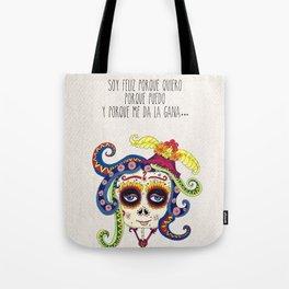 VIDA Tote Bag - LA CATRINA TOTE BAG by VIDA ixK7JrLNQz