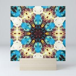 intergalaxial mandala Mini Art Print