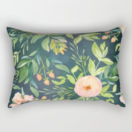 The Night Meadow Rectangular Pillow