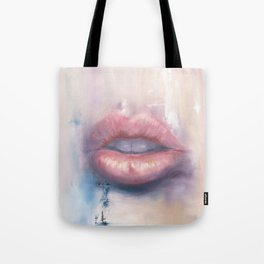 Luscious Lips Tote Bag