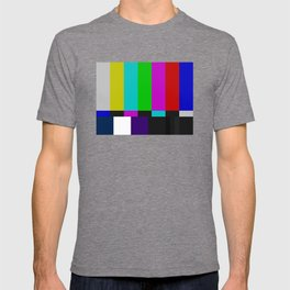 SMPTE Color Bars (as seen on TV) T-shirt