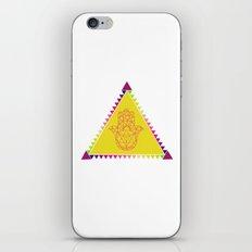 Merkaba Triangle Yellow iPhone & iPod Skin